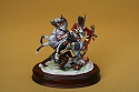 Limited Edition Porcelain Battle of Waterloo Group